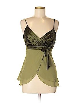 Bebe Sleeveless Silk Top Size M