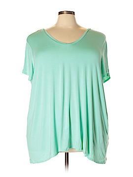 Boutique + Short Sleeve Top Size 4X (Plus)