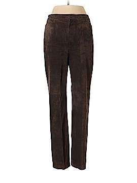 David Brooks Leather Pants Size 6