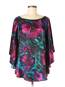 Aum-Couture Short Sleeve Blouse Size S