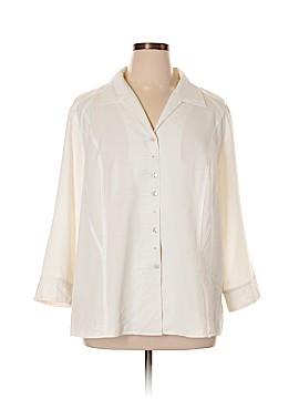 Covington Outlet Long Sleeve Blouse Size 3X (Plus)