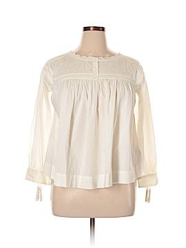 Current/Elliott Long Sleeve Blouse Size Med (2)