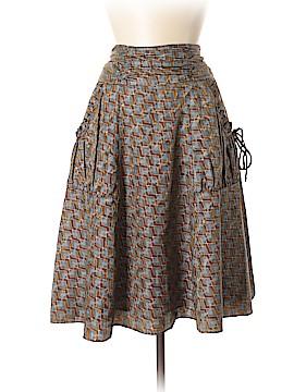 Narcisa Lang Silk Skirt Size M