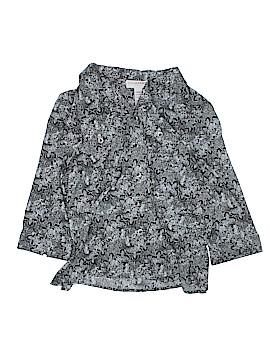 Sag Harbor 3/4 Sleeve Button-Down Shirt Size 20W (Plus)