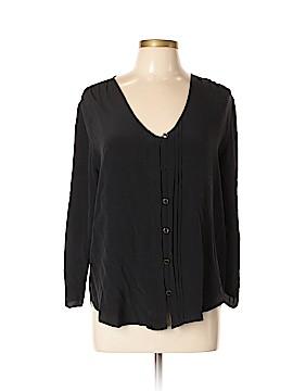 Yumi Kim Long Sleeve Silk Top Size L
