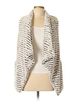 Jolt Faux Fur Vest Size M