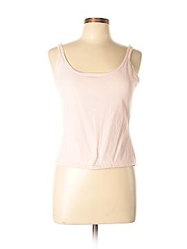 White + Warren Sleeveless Silk Top Size L
