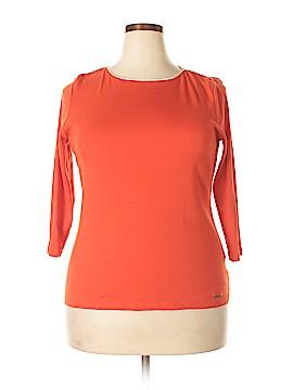 Ellen Tracy 3/4 Sleeve T-Shirt Size XL