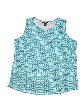 Nue Options Sleeveless T-Shirt Size 1X (Plus)