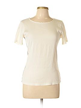 Katherine Kidd Short Sleeve Silk Top Size 6