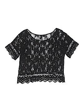 Dividends Short Sleeve Blouse Size 6