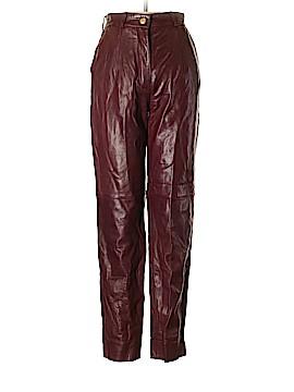Escada by Margaretha Ley Leather Pants Size 36 (EU)