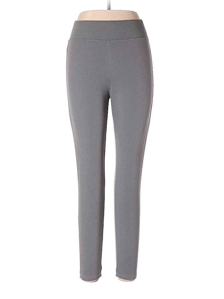 726130a560a2f4 Merona Solid Gray Leggings Size L - 33% off | thredUP