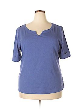 Ellen Tracy Short Sleeve Top Size XXL