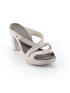 Crocs Heels Size 8
