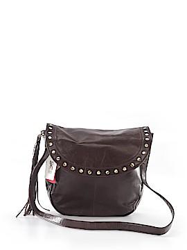 Hobo Leather Crossbody Bag One Size