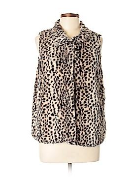 Croft & Barrow Faux Fur Vest Size M/L