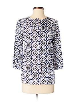 Ecru 3/4 Sleeve Blouse Size XS