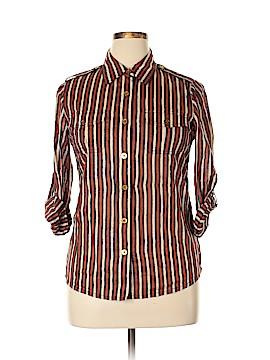 Tory Burch Long Sleeve Button-Down Shirt Size 12