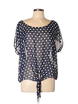 One Clothing Short Sleeve Blouse Size XL