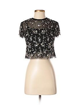 Needle & Thread Short Sleeve Blouse Size 2