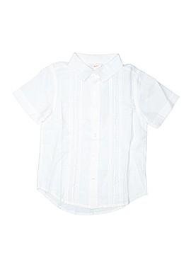 Gymboree Outlet Short Sleeve Button-Down Shirt Size 6