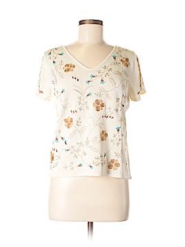 Sigrid Olsen Silk Pullover Sweater Size M