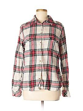 H&M L.O.G.G. Long Sleeve Button-Down Shirt Size M