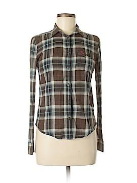 Whoau Cali. Spirit 1849 Long Sleeve Button-Down Shirt Size S