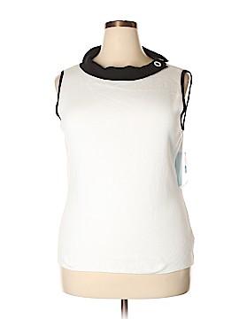 Designers Originals Sleeveless Top Size 1X (Plus)