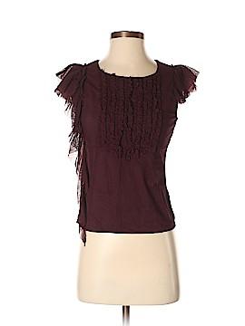 Lux Short Sleeve Blouse Size M