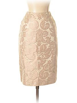 Linda Allard Ellen Tracy Silk Skirt Size 2 (Petite)