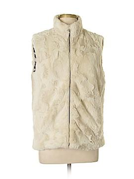 Au Lieu Faux Fur Vest Size XL
