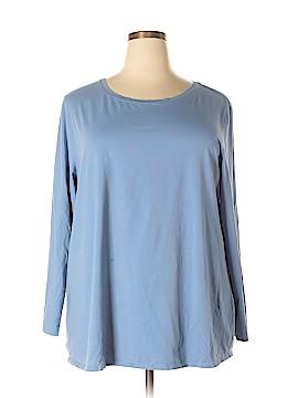 Purejill Long Sleeve T-Shirt Size 3X (Plus)