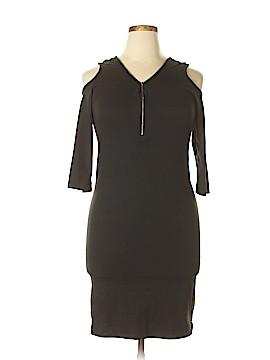 Hot Kiss Casual Dress Size 1X (Plus)
