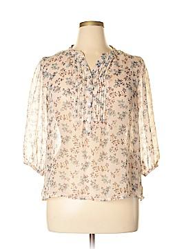 Pinky 3/4 Sleeve Blouse Size XL