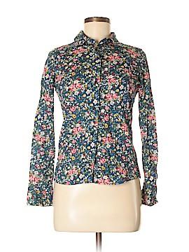 Delia's Long Sleeve Button-Down Shirt Size XS