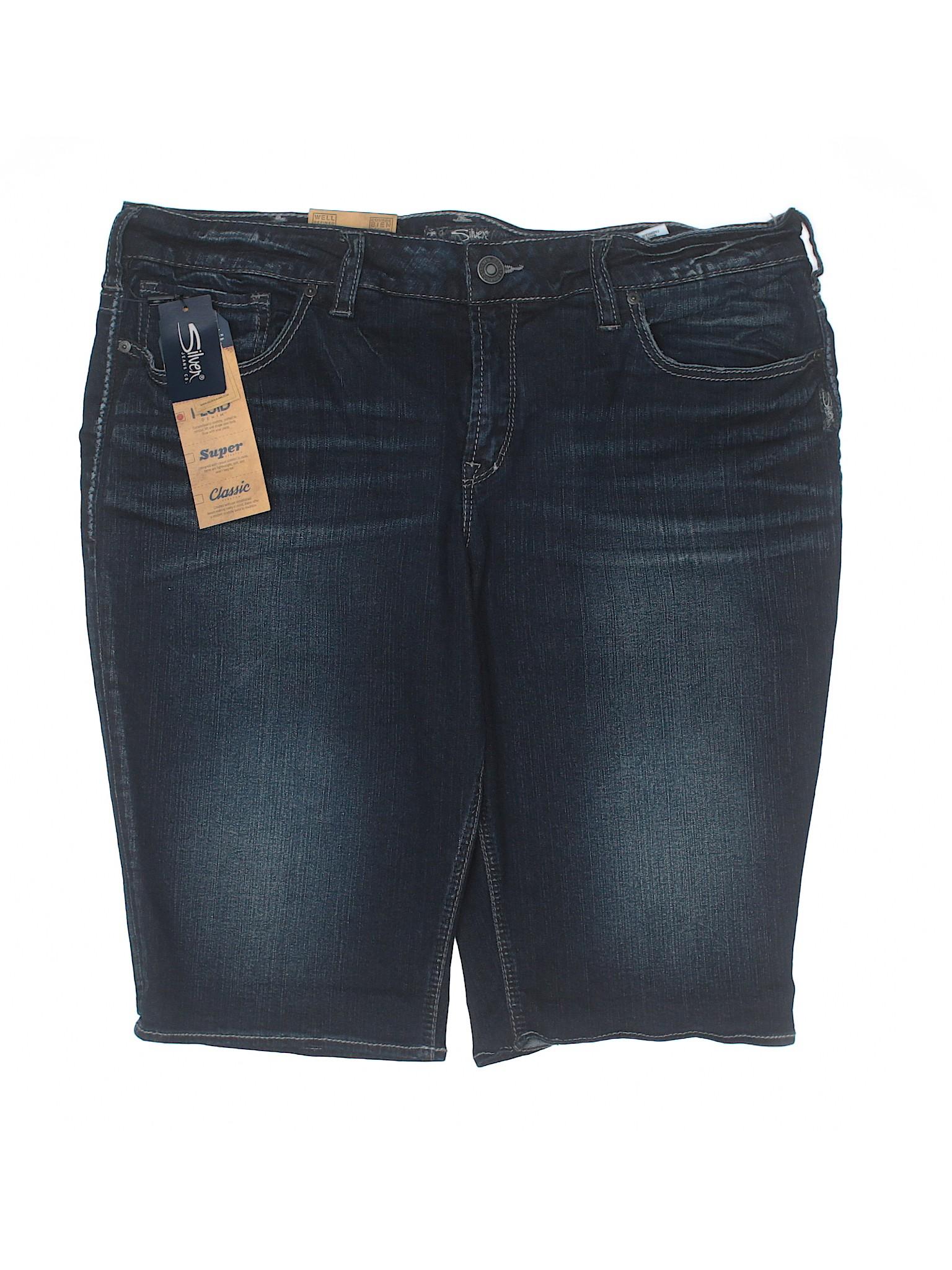 Silver Shorts Co Jeans Denim Boutique pOcZW4Tq4