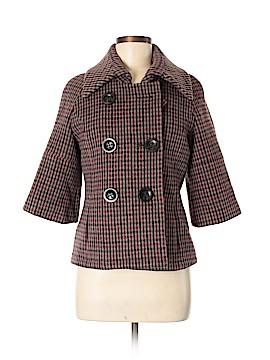 Pink Tartan Wool Blazer Size 6