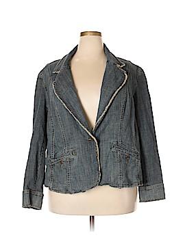 MICHAEL Michael Kors Denim Jacket Size 3X (Plus)
