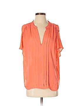 La Fee Verte Short Sleeve Silk Top Size S