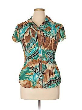Serenade Short Sleeve Blouse Size XL