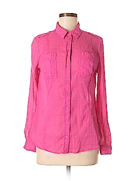 Edme & Esyllte Long Sleeve Button-Down Shirt Size 6