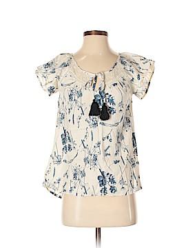 Doe & Rae Short Sleeve Blouse Size XS