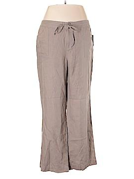 INC International Concepts Linen Pants Size 20 (Plus)
