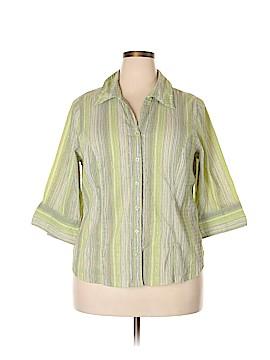 CSI Industries 3/4 Sleeve Blouse Size 18 - 20 (Plus)