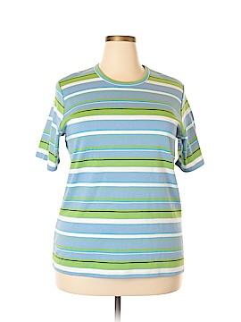 Pendleton Short Sleeve Top Size 2X (Plus)