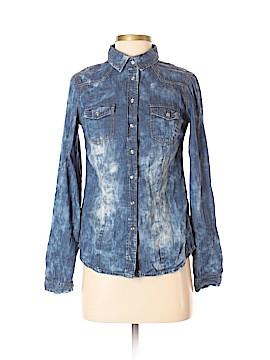 YMI Long Sleeve Button-Down Shirt Size S