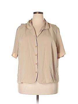 Studio 1940 Short Sleeve Blouse Size 22 - 24 (Plus)