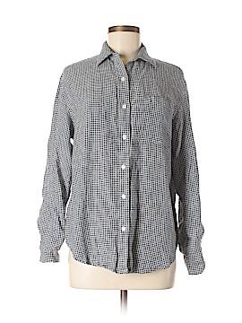 Jones New York Sport Long Sleeve Button-Down Shirt Size S